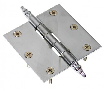 Chrome Solid Brass Cabinet Hinge Decor Tip 3 Door Hinges Door Hinge Solid Brass Hinge