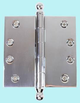 Door Hinges - 4inx4in Square by the Renovator's Supply
