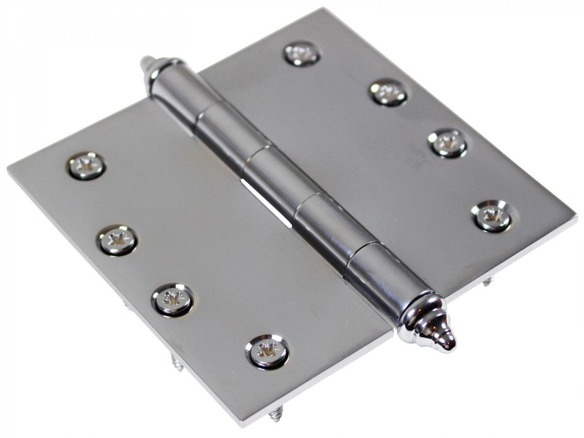 Chrome Solid Brass Cabinet Hinge Decor Tip 4 Door Hinges Door Hinge Solid Brass Hinge