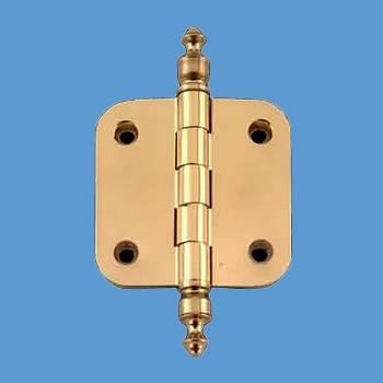 Door Hinges - Brass Hinge 2inx2in by the Renovator's Supply