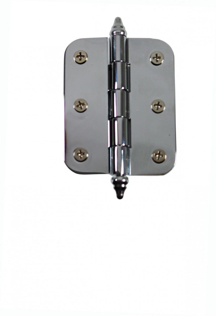 Chrome Brass Cabinet Hinge Radius Decor Tip 2\