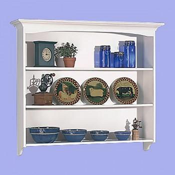 <PRE>Shaker White Tulipwood Shaker Wall Hutch Tulipwood White 3 shelves</PRE>