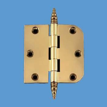 <PRE>Cabinet Hinge Radius Brass Steeple Finial 3inch </PRE>zoom2