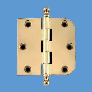 <PRE>Bright Solid Brass Cabinet Hinge 3inch x 3&quot; Ball Tip </PRE>zoom2