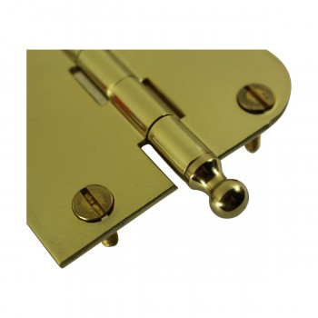 <PRE>Bright Solid Brass Cabinet Hinge 3inch x 3&quot; Ball Tip </PRE>zoom5