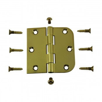 <PRE>Bright Solid Brass Cabinet Hinge 3inch x 3&quot; Button Tip </PRE>zoom3
