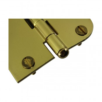 <PRE>Bright Solid Brass Cabinet Hinge 3inch x 3&quot; Button Tip </PRE>zoom5