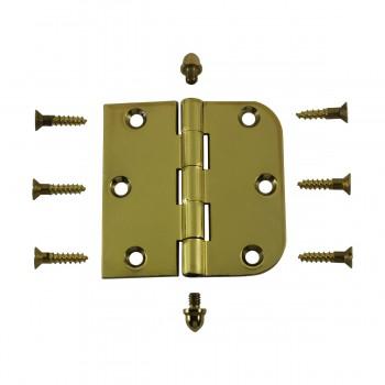 <PRE>Bright Solid Brass Cabinet Hinge 3inch x 3&quot; Helmet Tip </PRE>zoom3