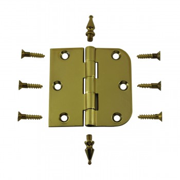 <PRE>Bright Solid Brass Cabinet Hinge 3inch x 3&quot; Spire Tip </PRE>zoom3