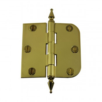 <PRE>Bright Solid Brass Cabinet Hinge 3inch x 3&quot; Spire Tip </PRE>zoom4