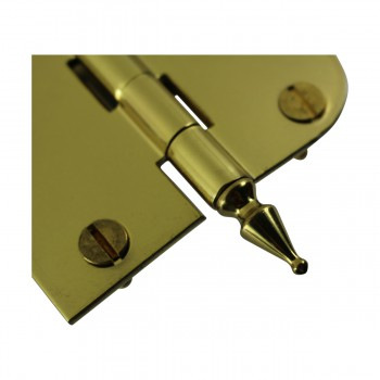 <PRE>Bright Solid Brass Cabinet Hinge 3inch x 3&quot; Spire Tip </PRE>zoom5