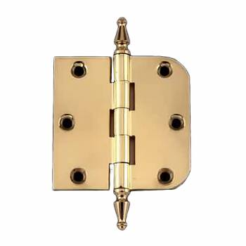 <PRE>Bright Solid Brass Cabinet Hinge 3inch x 3&quot; Spire Tip </PRE>zoom1
