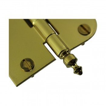 <PRE>Bright Solid Brass Cabinet Hinge 3inch x 3&quot; Urn Tip </PRE>zoom5