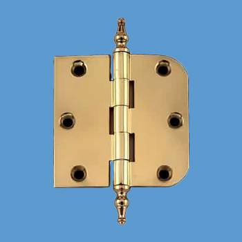 Door Hinges - Brass Hinge 3inx3in by the Renovator's Supply