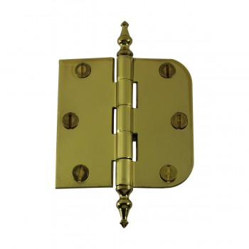 <PRE>Bright Solid Brass Cabinet Hinge 3inch x 3&quot; Temple Tip </PRE>zoom3