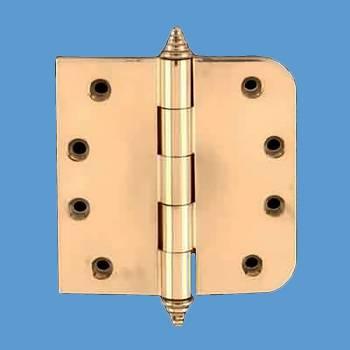 Door Hinges - Brass Hinge 3.5inx3.5in by the Renovator's Supply