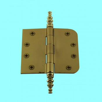 Door Hinges - Brass Hinge 4inx4in by the Renovator's Supply