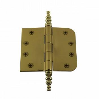 Bright Solid Brass Door Hinge 4