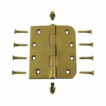 <PRE>Bright Solid Brass Door Hinge 4inch Helmet Tip </PRE>zoom3