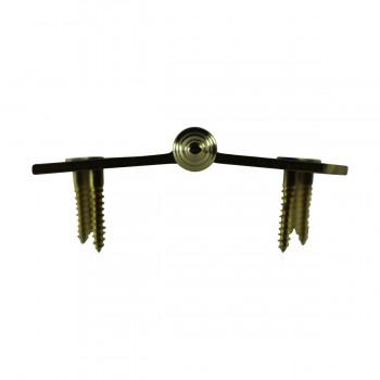 <PRE>Bright Solid Brass Door Hinge 4inch Decor Tip </PRE>zoom11