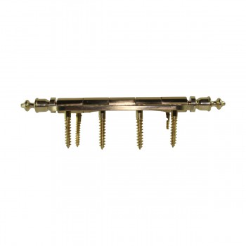 <PRE>Bright Solid Brass Door Hinge 4inch Urn Tip </PRE>zoom9