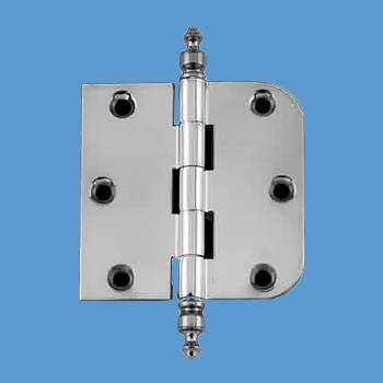 Door Hinges - 3in x 3in Combo Hinge (with  Urn Finials) by the Renovator's Supply