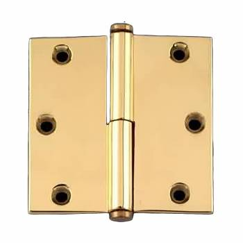 <PRE>Door Cabinet Hinge Lift Off Left 3&quot; Solid Brass Coin Tip </PRE>