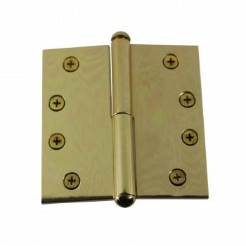 Solid Brass Antique Lift Off Left Door Hinge 4