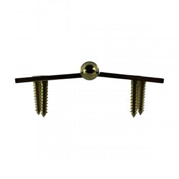 <PRE>Solid Brass Antique Lift Off Left Door Hinge 4in Helmet Tip </PRE>zoom7