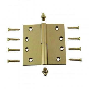 <PRE>Solid Brass Antique Lift Off Left Door Hinge 4inch Decor Tip </PRE>zoom3