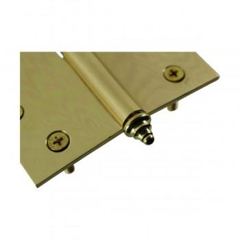 <PRE>Solid Brass Antique Lift Off Left Door Hinge 4inch Decor Tip </PRE>zoom5