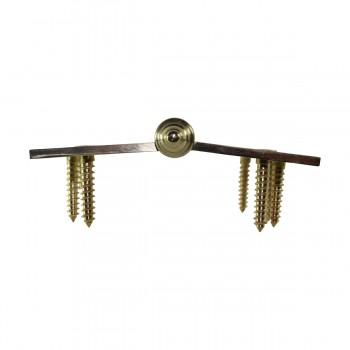 <PRE>Solid Brass Antique Lift Off Left Door Hinge 4inch Decor Tip </PRE>zoom6