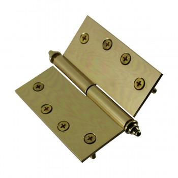 <PRE>Solid Brass Antique Lift Off Left Door Hinge 4inch Decor Tip </PRE>zoom8
