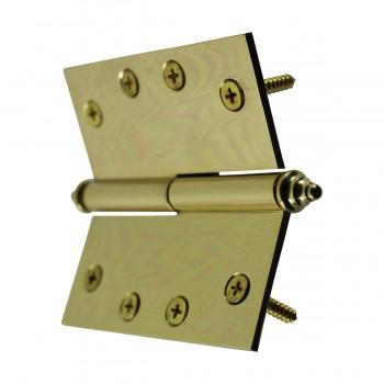 <PRE>Solid Brass Antique Lift Off Left Door Hinge 4inch Decor Tip </PRE>zoom9