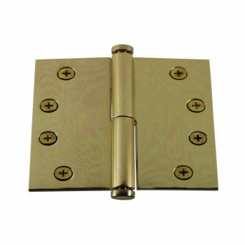 Solid Brass Antique Lift Off Left Door Hinge 4