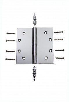 <PRE>Chrome Lift Off Left Brass Door Hinge 5inch Steeple Tip </PRE>zoom4