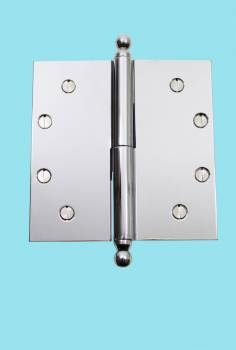 <PRE>Chrome Lift Off Left Brass Door Hinge 5inch Ball Tip </PRE>zoom2