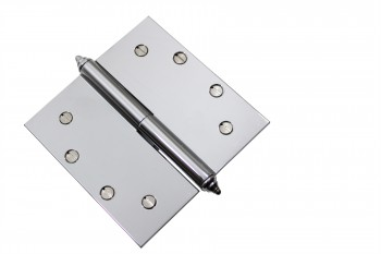<PRE>Chrome Lift Off Left Brass Door Hinge 5inch  Decor Tip </PRE>zoom3