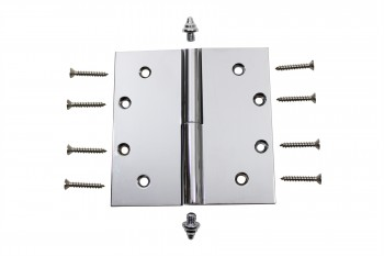 <PRE>Chrome Lift Off Left Brass Door Hinge 5inch  Decor Tip </PRE>zoom4