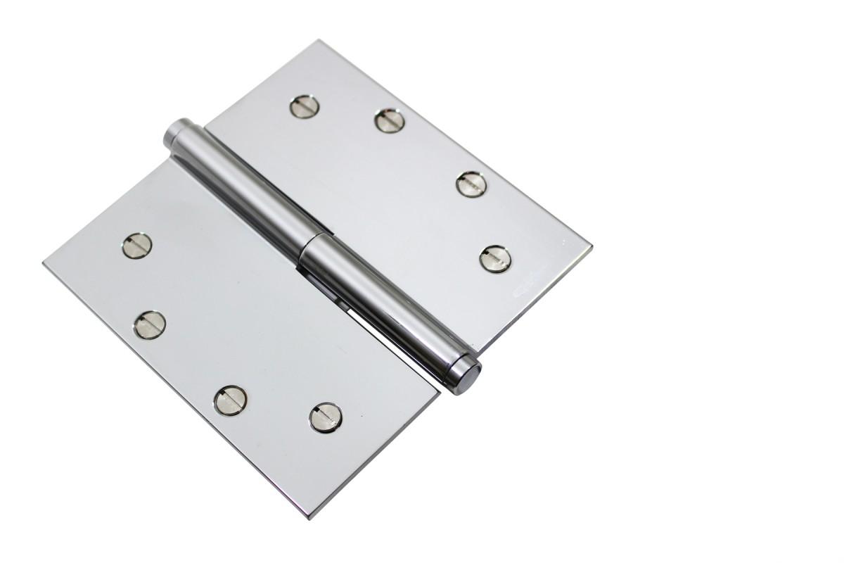 Chrome Lift Off Left Brass Door Hinge 5 Coin Tip Door Hinges Door Hinge Solid Brass Hinge