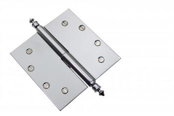 <PRE>Chrome Lift Off Left Brass Door Hinge 5inch Urn Tip </PRE>zoom3