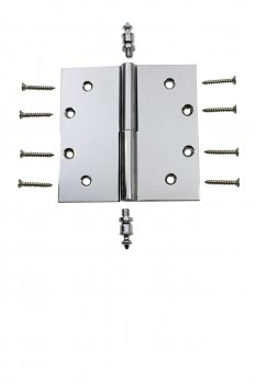 <PRE>Chrome Lift Off Left Brass Door Hinge 5inch Urn Tip </PRE>zoom4