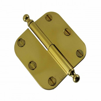 <PRE>Brass Lift Off Left Cabinet Hinge 3inch Radius Ball Tip </PRE>zoom4