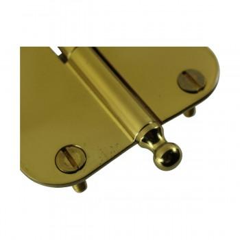 <PRE>Brass Lift Off Left Cabinet Hinge 3inch Radius Ball Tip </PRE>zoom7
