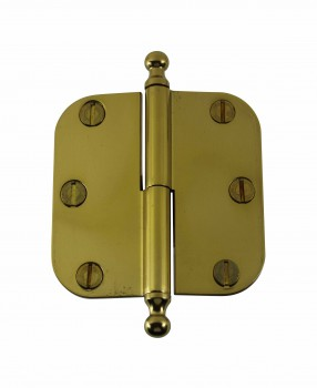 Brass Lift Off Left Cabinet Hinge 3
