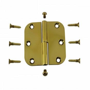 <PRE>Brass Lift Off Left Cabinet Hinge 3inch Radius Button Tip </PRE>zoom3
