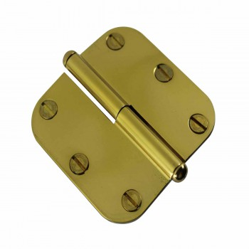 <PRE>Brass Lift Off Left Cabinet Hinge 3inch Radius Button Tip </PRE>zoom4