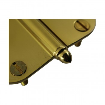 <PRE>Brass Lift Off Left Cabinet Hinge 3inch Radius Helmet Tip </PRE>zoom7