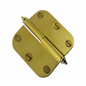 <PRE>Brass Lift Off Left Cabinet Hinge 3inch Radius Decor Tip </PRE>zoom3