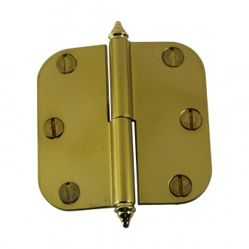 <PRE>Brass Lift Off Left Cabinet Hinge 3inch Radius Decor Tip </PRE>zoom6
